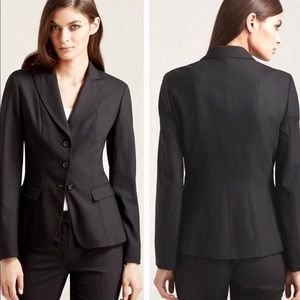 NEW Tahari Size 2 Tailored 3-Button Suit Blazer
